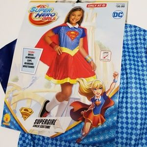 Dc Comics Costumes Supergirl Dc Superhero Girls Costume Large